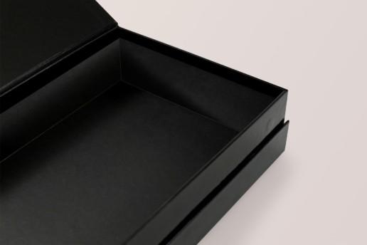 Коробка книжка на магнитах Павловопосадские платки