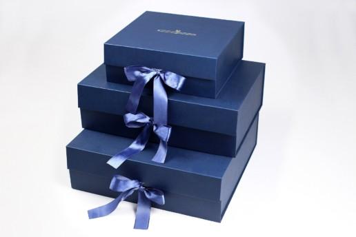 Коробка книжка на лентах для Торжокских Золотошвей