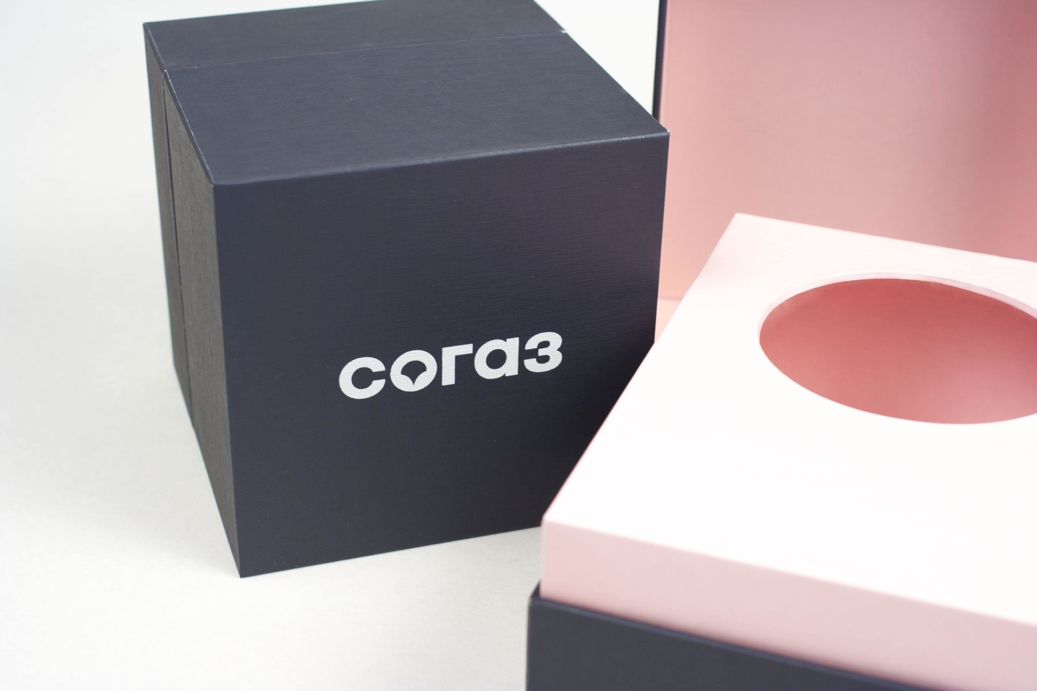 Коробки под диффузор с логотипом, заказ СОГАЗ