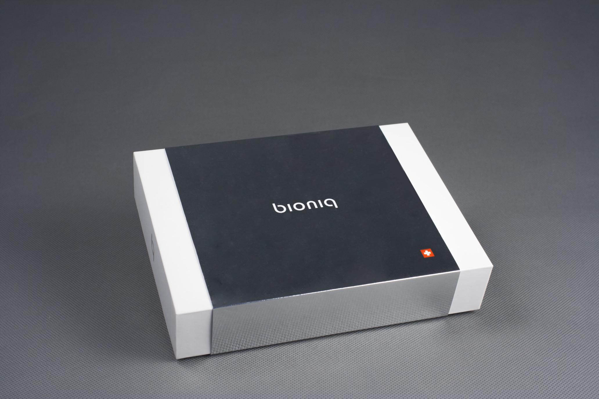 Коробка крышка-дно с обечайкой, заказ BIONIQ