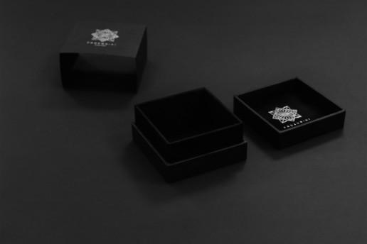 Упаковка для парфюмерии конструкции крышка-дно, заказ для PROZORINI