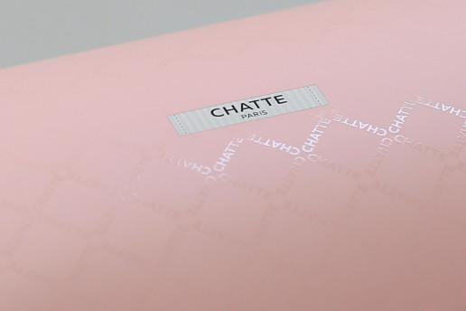 Самосборные коробки на заказ для Chatte