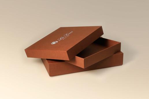 Кашированные коробки с логотипом на заказ