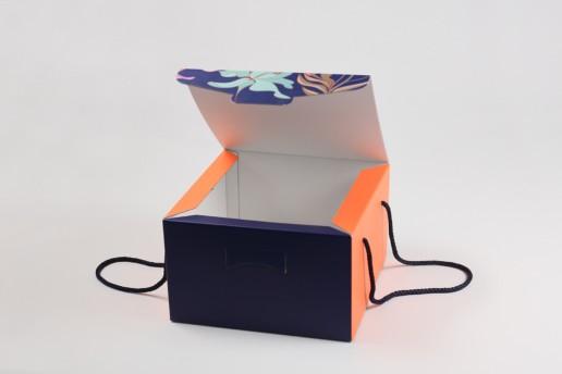 Самосборная коробка NATURA SIBERICA