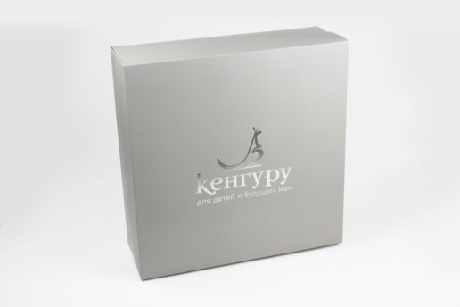 Самосборные коробки с печатью, заказ Кенгуру