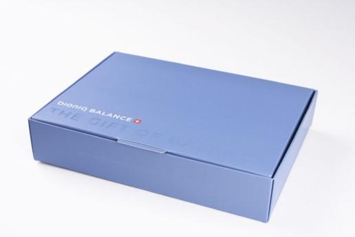 Коробка из мелованного картона, по заказу BIONIQ