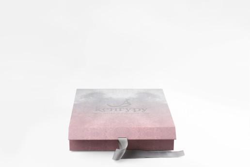 Коробка с магнитным клапаном и лентами, заказ Кенгуру